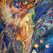 The Keeper Of Menorah Poster by Elena Kotliarker