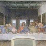 The Last Supper Poster by Leonardo da Vinci