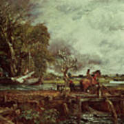 The Leaping Horse Poster by John Constable