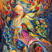 The Love Story Poster by Elena Kotliarker
