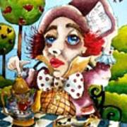 The Mad Hatter Poster by Lucia Stewart