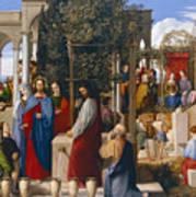 The Marriage At Cana Poster by Julius Schnorr von Carolsfeld