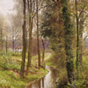 The Mill Stream Poster by Henry Sutton Palmer