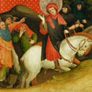 The Mocking Of Saint Thomas Poster by Master Francke