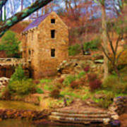The Old Mill Poster by Renee Skiba