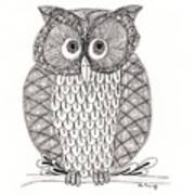 The Owl's Who Poster by Paula Dickerhoff