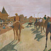 The Parade Poster by Edgar Degas