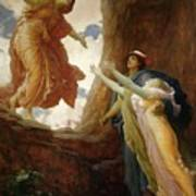 The Return Of Persephone Poster by Frederic Leighton