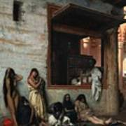 The Slave Market Poster by Jean Leon Gerome