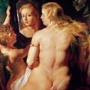 The Toilet Of Venus Poster by Peter Paul Rubens