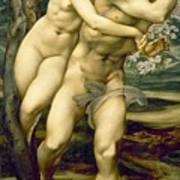 The Tree Of Forgiveness Poster by Sir Edward Burne-Jones