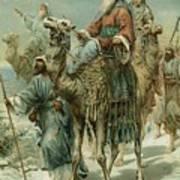 The Wise Men Seeking Jesus Poster by Ambrose Dudley