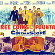 Three Coins In The Fountain, Clifton Poster by Everett