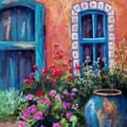 Tiled Window Poster by Candy Mayer