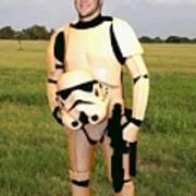 Tim Tebow Stormtrooper Poster by Paul Van Scott
