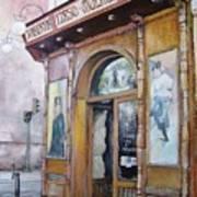 Tirso De Molina Old Tavern Poster by Tomas Castano
