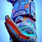 Totem 42 Poster by Randall Weidner