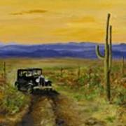 Touring Arizona Poster by Jack Skinner