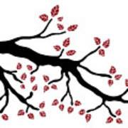Tree Branch Poster by Frank Tschakert