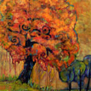 Tree Of Wisdom Poster by Blenda Studio