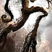 Treeman Poster by Alex Ruiz