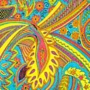 Tropical Sizzle Poster by Ramneek Narang