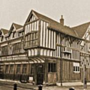 Tudor House Southampton Poster by Terri Waters