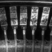 Typewriter Keys Poster by Tom Mc Nemar