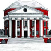 University Of Virginia Poster by Frederic Kohli