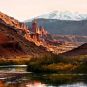 Utah Colorado River Poster by Marilyn Hunt