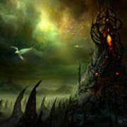Utherworlds Where Fears Roam Poster by Philip Straub
