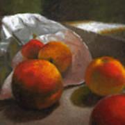 Vanzant Peaches Poster by Timothy Jones