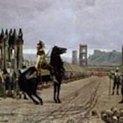 Vercingetorix Before Caesar Poster by Henri Paul Motte