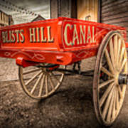 Victorian Cart Poster by Adrian Evans