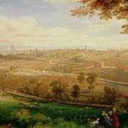 View Of Bradford Poster by William Cowen
