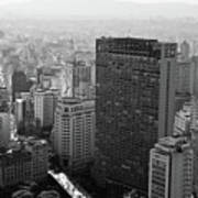 View Of Sao Paulo Poster by Jacobo Zanella