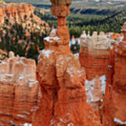 View Of Thor's Hammer In Bryce Canyon Poster by Pierre Leclerc Photography