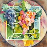 Vineyard Poster by Joan  Jones