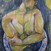 Virgo Poster by Brigitte Hintner