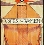 Votes For Women, 1911 Poster by Granger