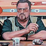 Walter Sobchak Poster by Tom Roderick