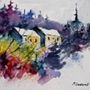 Watercolor 231207 Poster by Pol Ledent