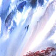 Waterfall Poster by Mui-Joo Wee