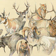 Western Heritage Poster by Steve Spencer