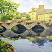 Westport Bridge County Mayo Poster by Conor McGuire
