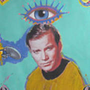 What Would Captain Kirk Do Poster by Mike  Mitch