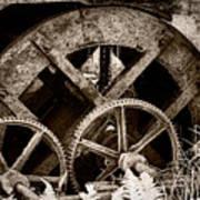 Wheels Of Time Poster by Gabriela Insuratelu