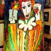 Winesnob Poster by Laurens  Barnard