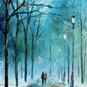 Winter Poster by Leonid Afremov