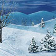 Winter Solstice Poster by Bedros Awak